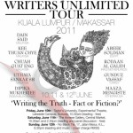 Writers Unlimited – Writers Tour to Indonesia and Malaysia