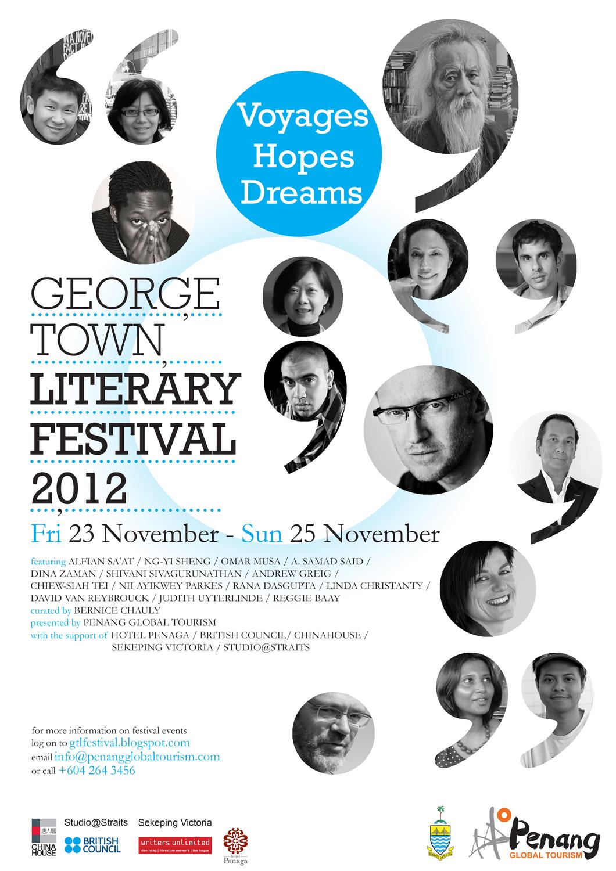 George Town Literary Festival: Nov 23-25 2012
