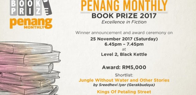 Once We Were There wins Penang Monthly Book Prize