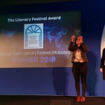 George Town Literary Festival wins The Literary Festival Award at The London Book Fair 2018